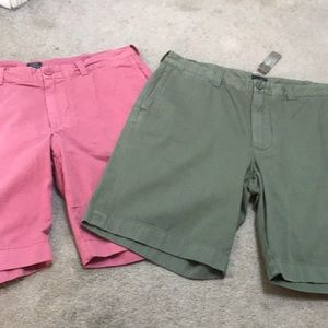 Men's J Crew Stanton shorts bundle